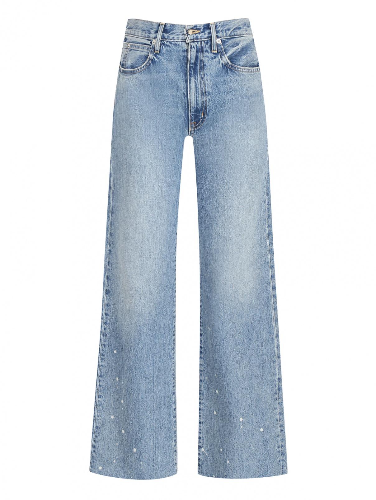 Широкие джинсы из хлопка Slvrlake  –  Общий вид