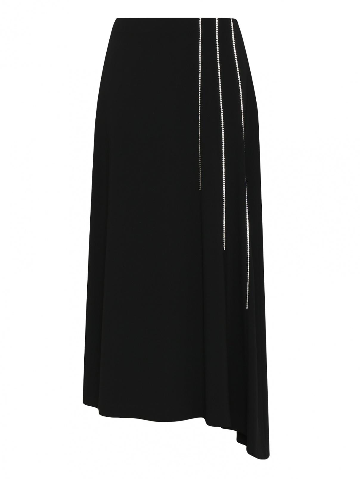 Юбка-макси декорированная стразами Marina Rinaldi  –  Общий вид