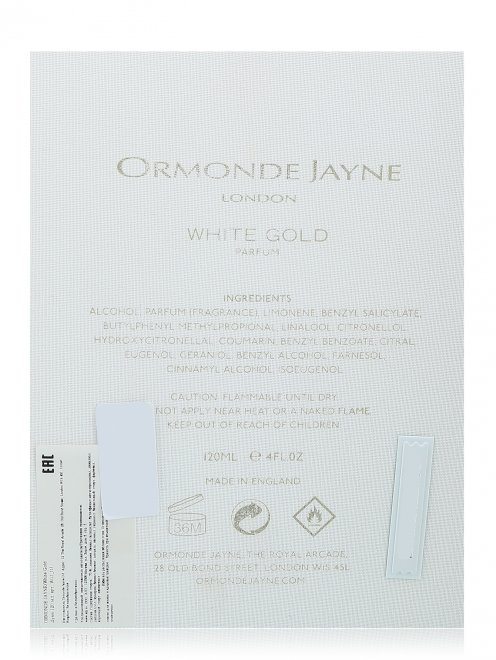 Духи 120 мл White Gold Ormonde Jayne - Обтравка2