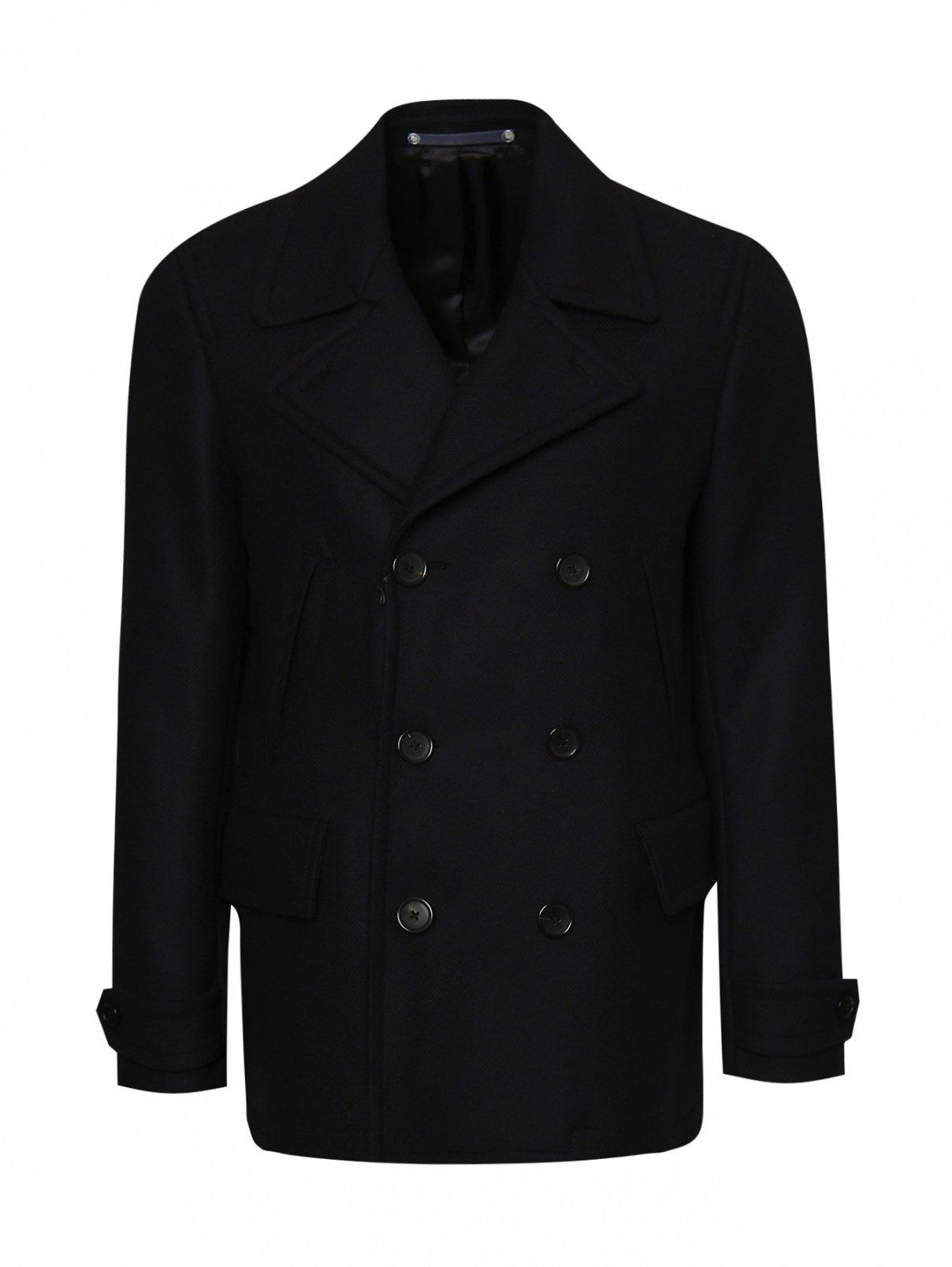 Пальто двубортное из шерсти Paul Smith  –  Общий вид