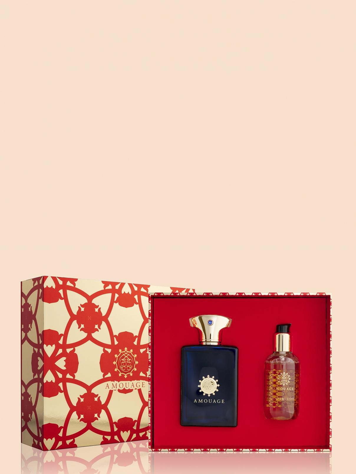 Набор парфюмерная вода + гель для душа Interlude Amouage  –  Общий вид