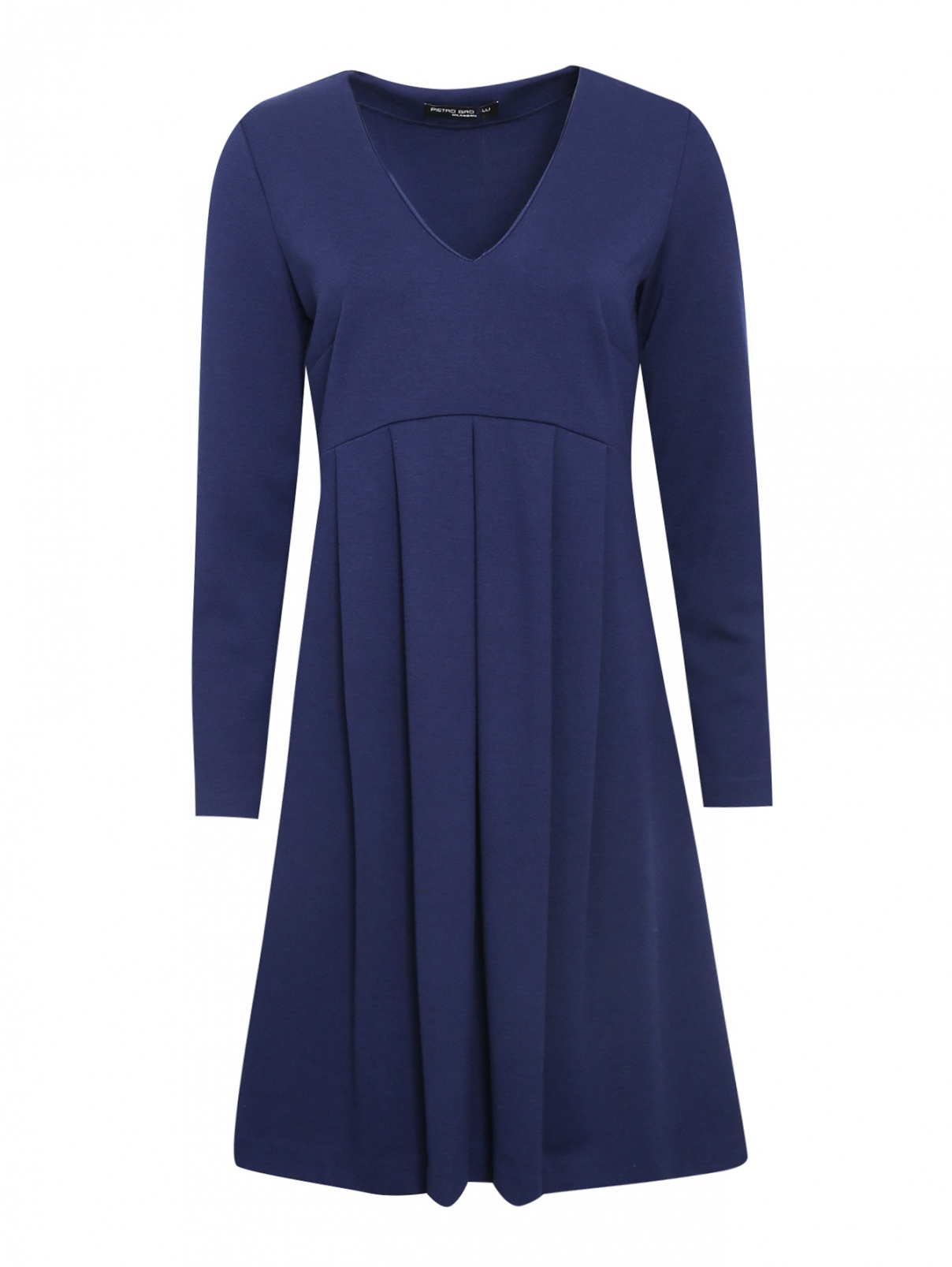Платье трикотажное со складками Pietro Brunelli  –  Общий вид