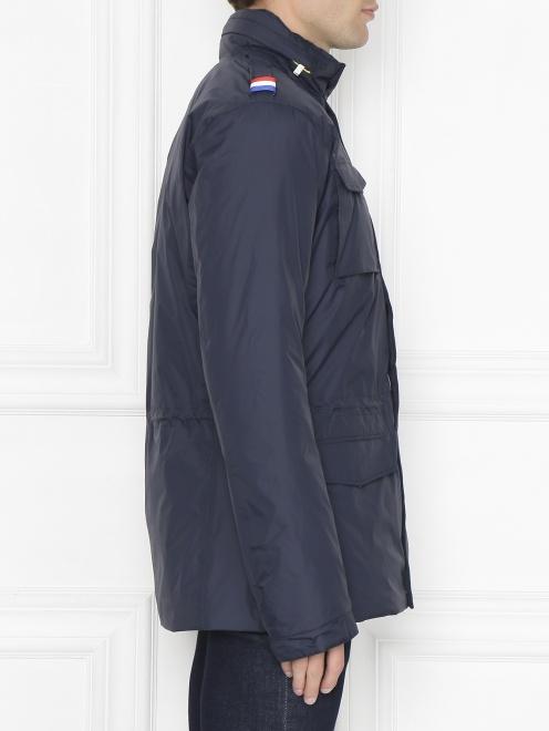 Куртка пуховая на молнии - МодельВерхНиз2