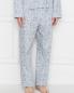 Пижама хлопковая с цветочным узором Zimmerli  –  МодельВерхНиз