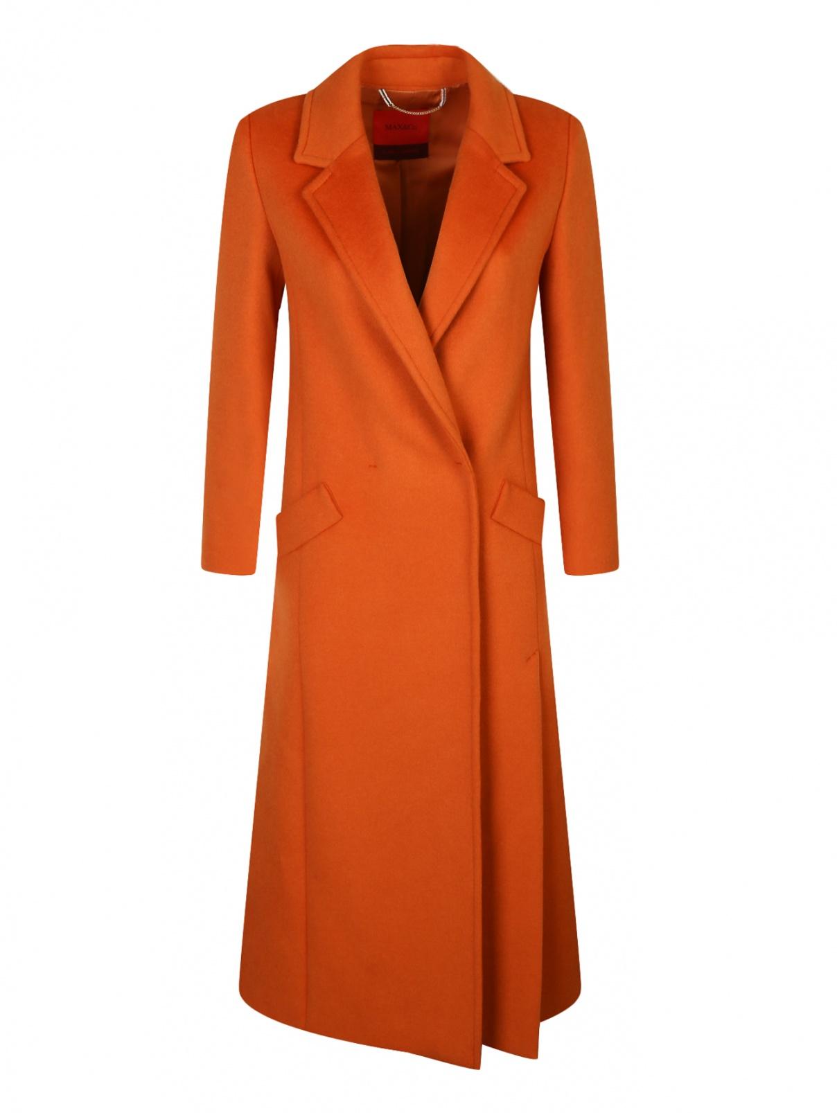 Удлиненное пальто из шерсти Max&Co  –  Общий вид