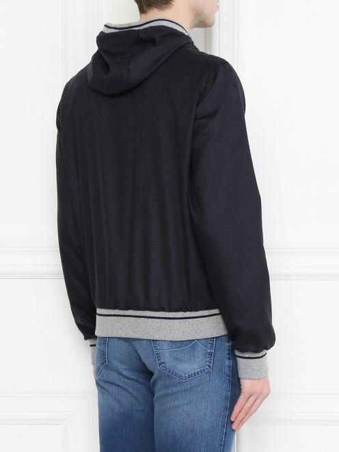 Куртка из шелка и кашемира Herno - МодельВерхНиз1