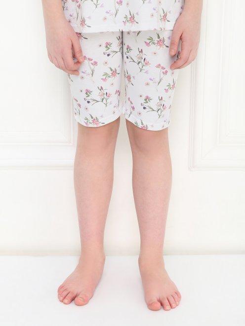Пижама с цветочным узором La Perla - МодельВерхНиз