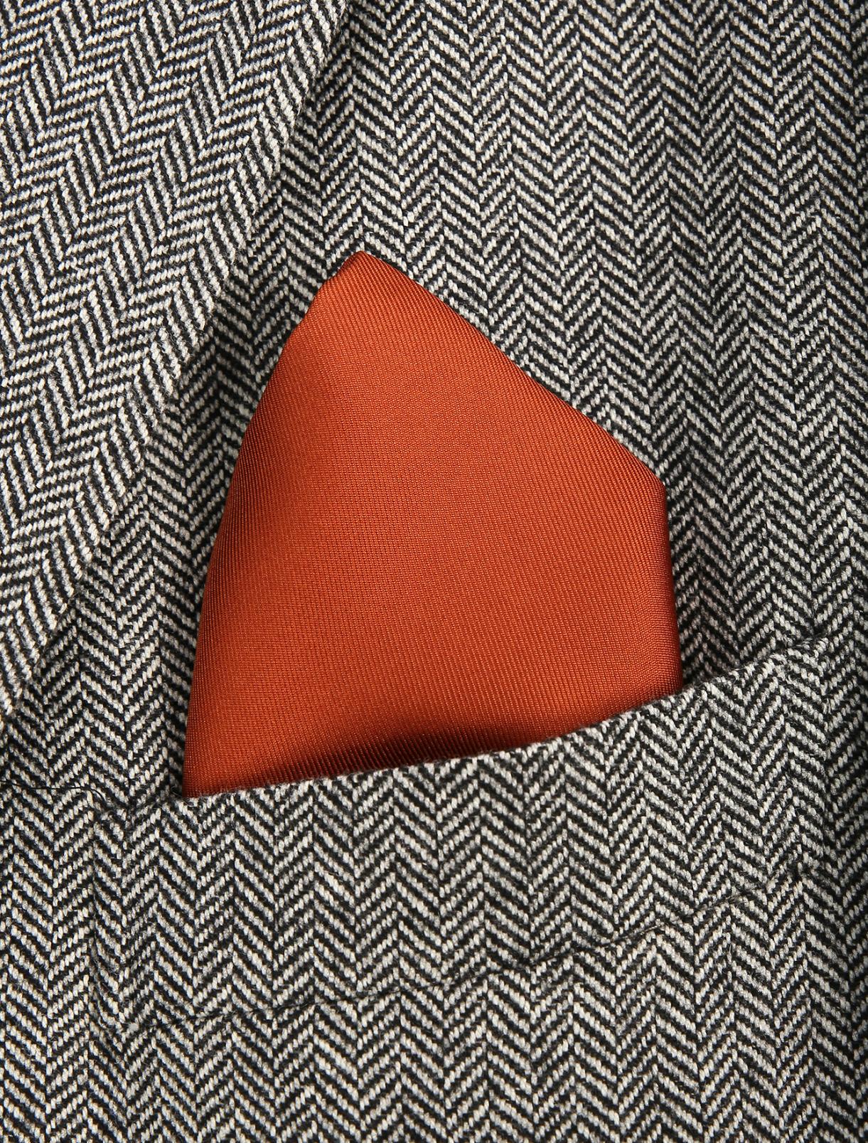Платок из шелка Brooks Brothers  –  Модель Общий вид
