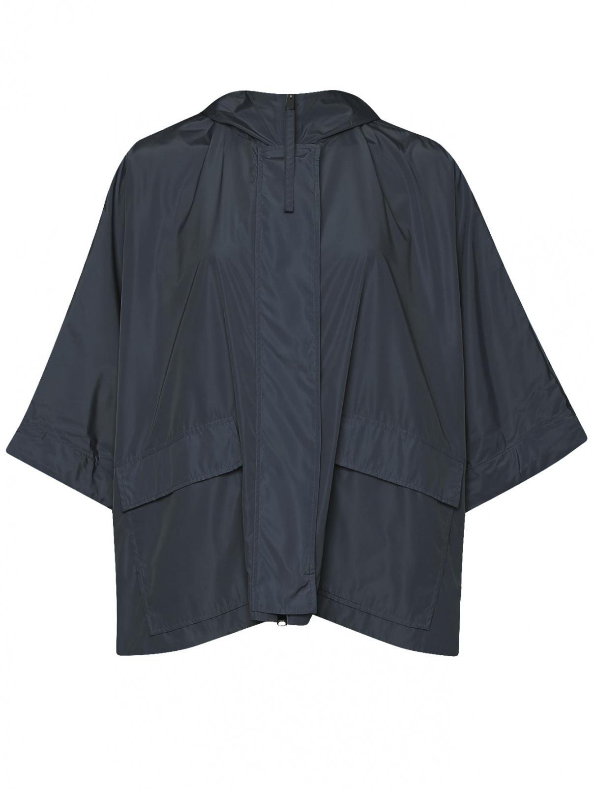 Плащ свободного кроя с накладными карманами Max&Co  –  Общий вид