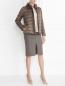Джемпер из смесовой шерсти с расклешенным рукавом Weekend Max Mara  –  Модель Общий вид