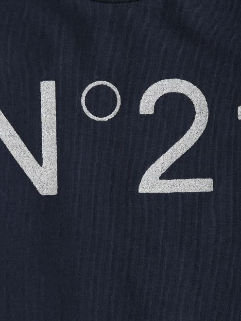 Свитшот с принтом и декоративной отделкой N21 - Деталь1