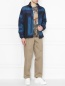 Куртка на молнии  в стиле пэчворк Etro  –  МодельОбщийВид
