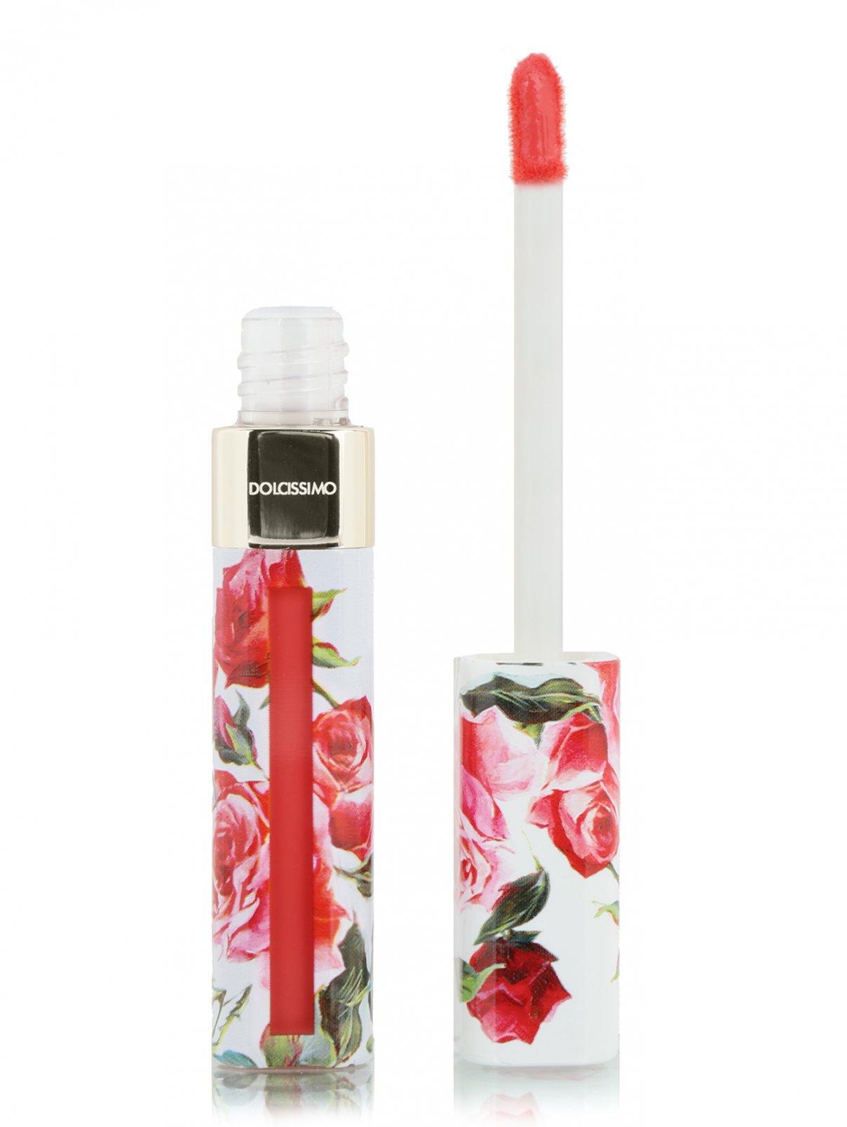 Матовый лак для губ DOLCISSIMO, 7 ORANGE, 5 мл Dolce & Gabbana  –  Общий вид