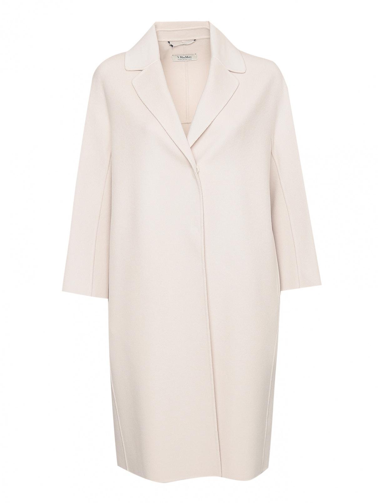 Пальто из шерсти на кнопках Max Mara  –  Общий вид