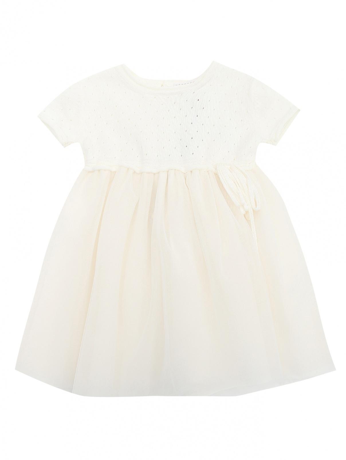 Платье трикотажное с пышной юбкой Aletta  –  Общий вид
