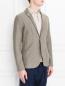 Пиджак трикотажный из хлопка LARDINI  –  МодельВерхНиз