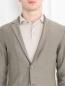 Пиджак трикотажный из хлопка LARDINI  –  МодельОбщийВид1
