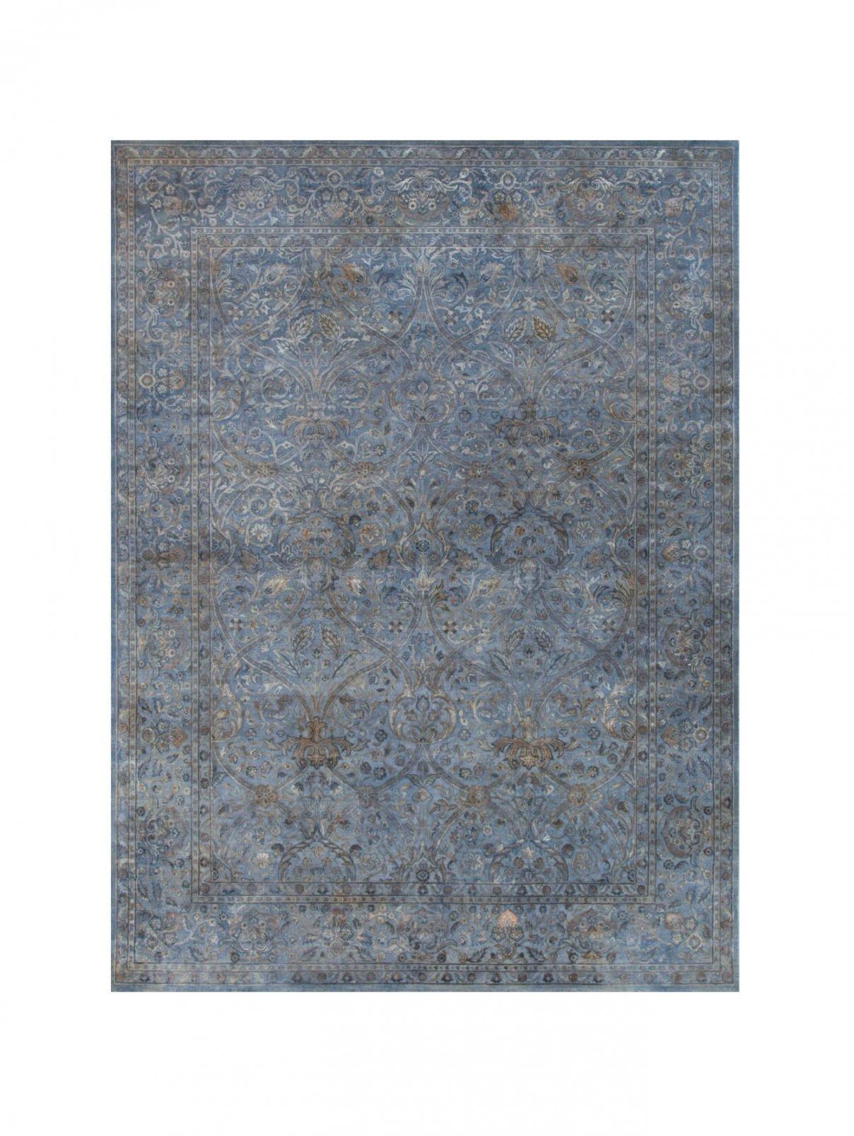 Ковер 300х200см BROCCATO I BLUE AFFRESCO Amini Carpets  –  Общий вид