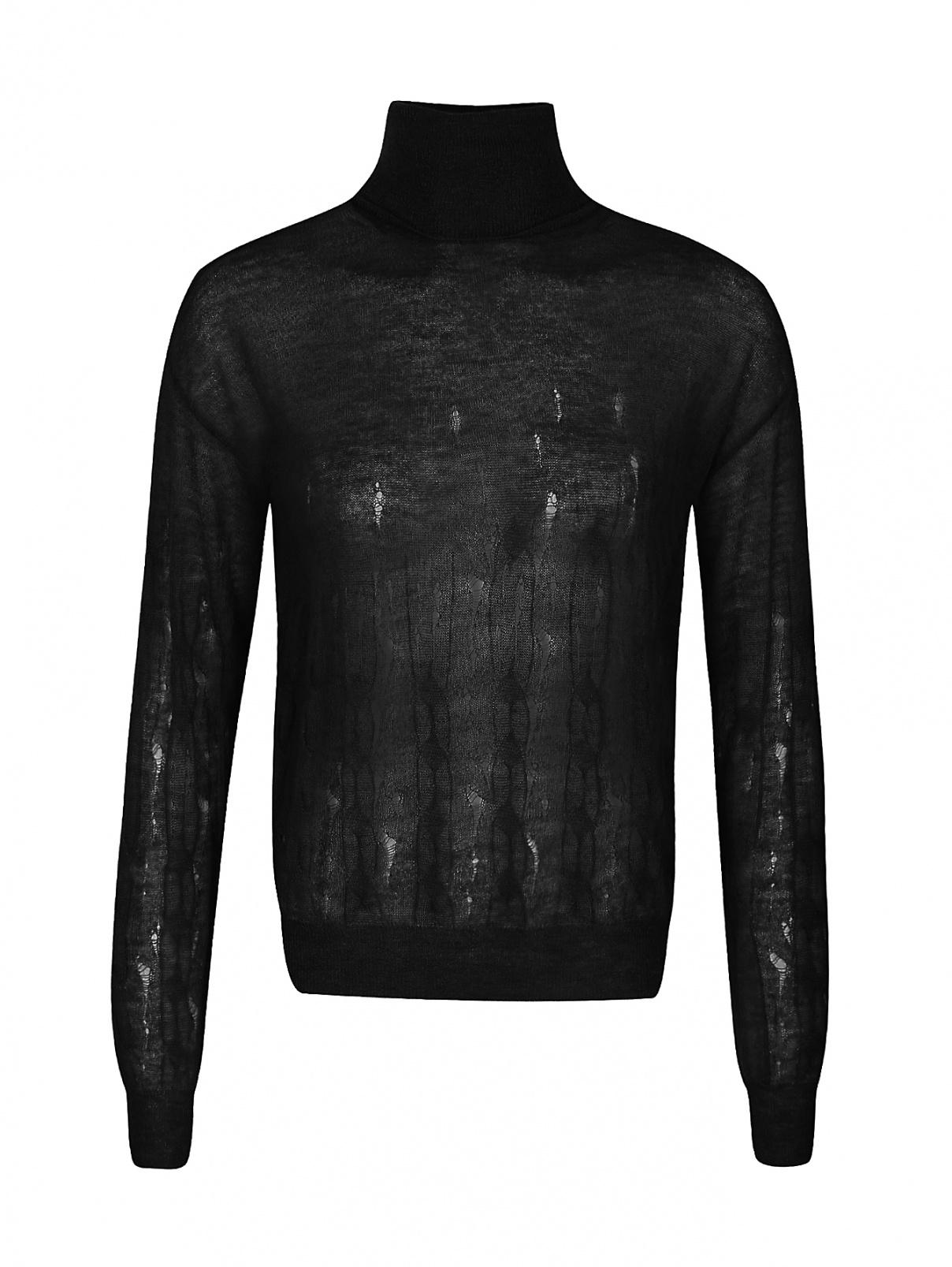 Свитер из мохера и шерсти Nina Ricci  –  Общий вид