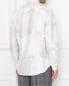Рубашка из хлопка и шелка с узором Etro  –  МодельВерхНиз1
