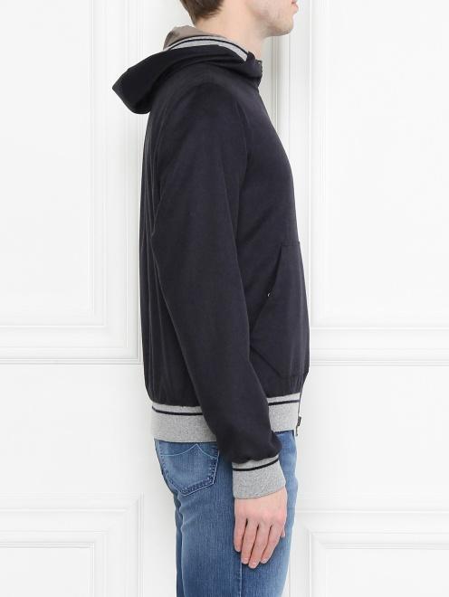 Куртка из шелка и кашемира Herno - МодельВерхНиз2