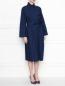 Платье из хлопка с боковыми карманами Etro  –  МодельВерхНиз