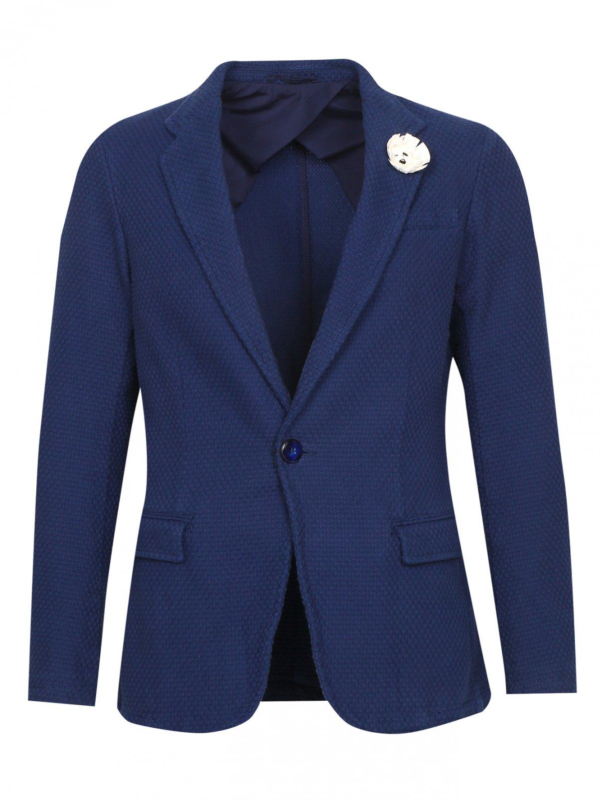 Пиджак из фактурного хлопка Armani Jeans  –  Общий вид