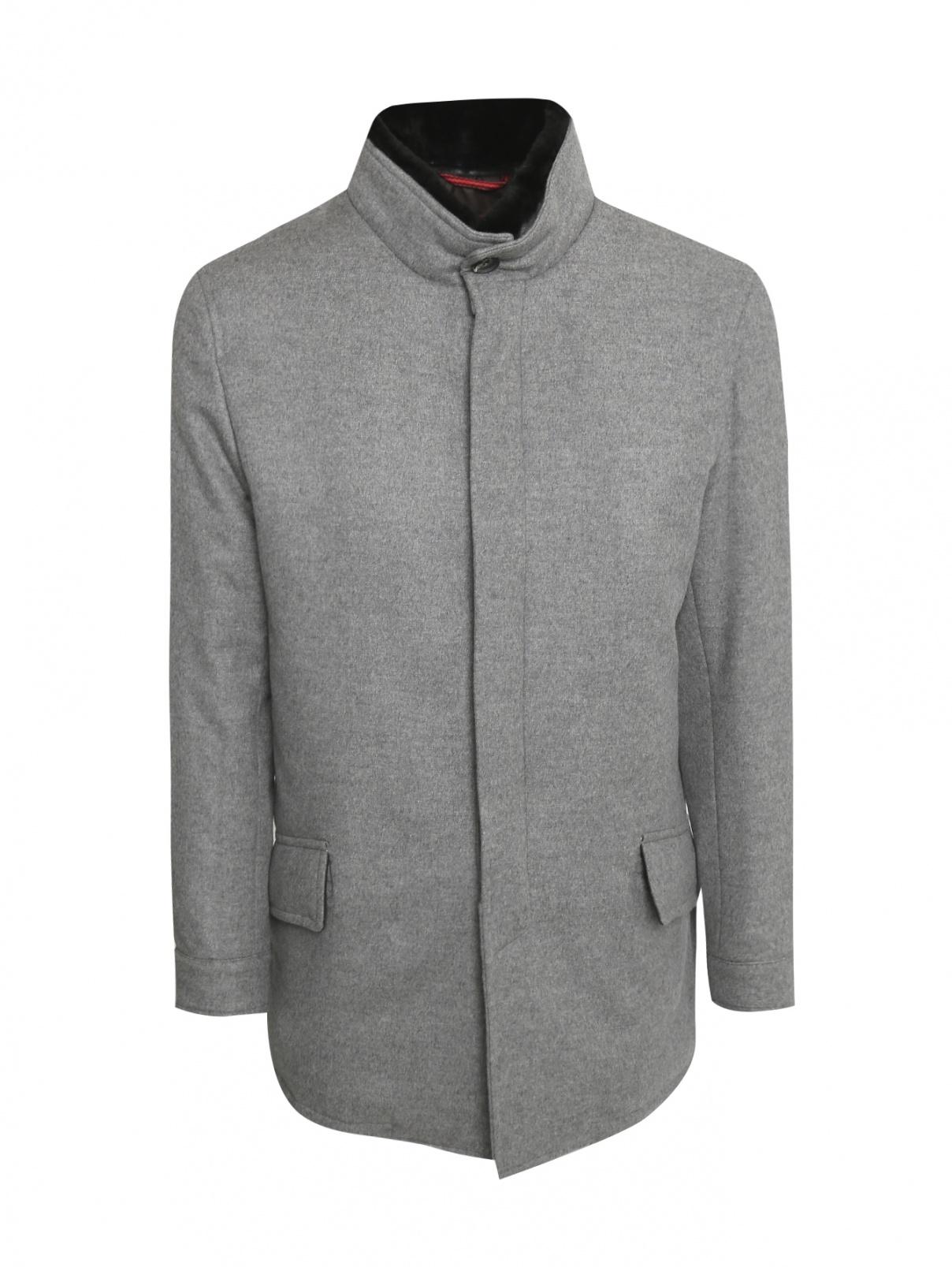Пальто из шерсти Isaia  –  Общий вид