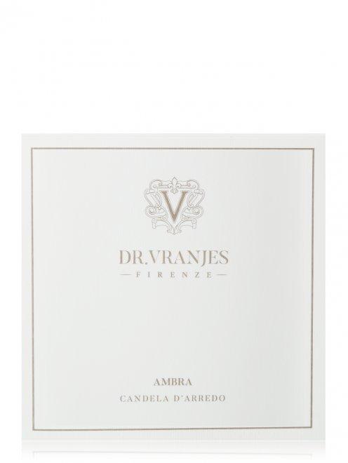 Свеча Ambra Matt Onyx 500г Home Fragrance Dr. Vranjes - Обтравка2