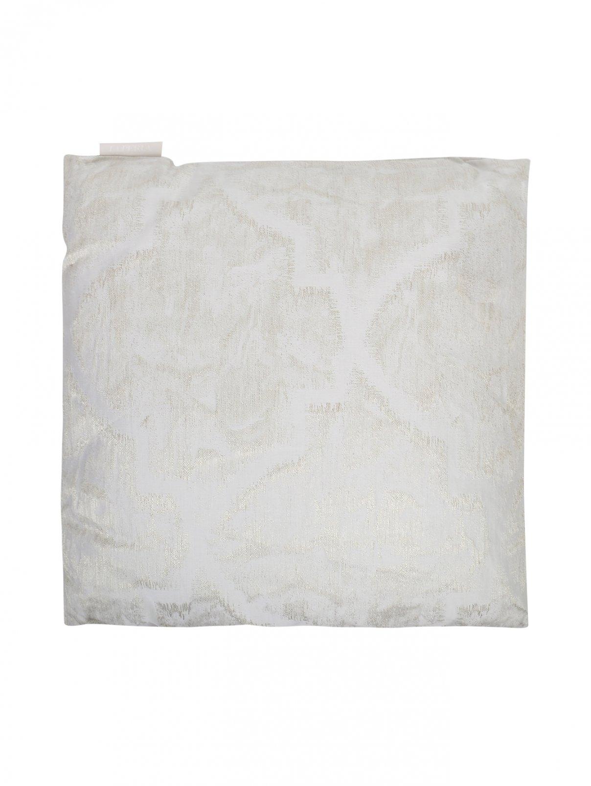 Подушка из текстурной ткани 50 x 50 La Perla  –  Общий вид