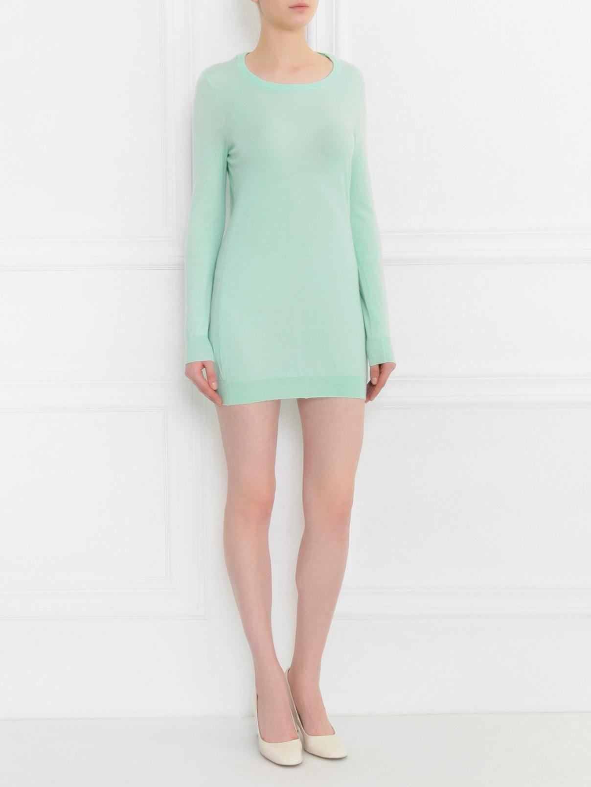 Платье из кашемира с декоративной отделкой Allude  –  Модель Общий вид
