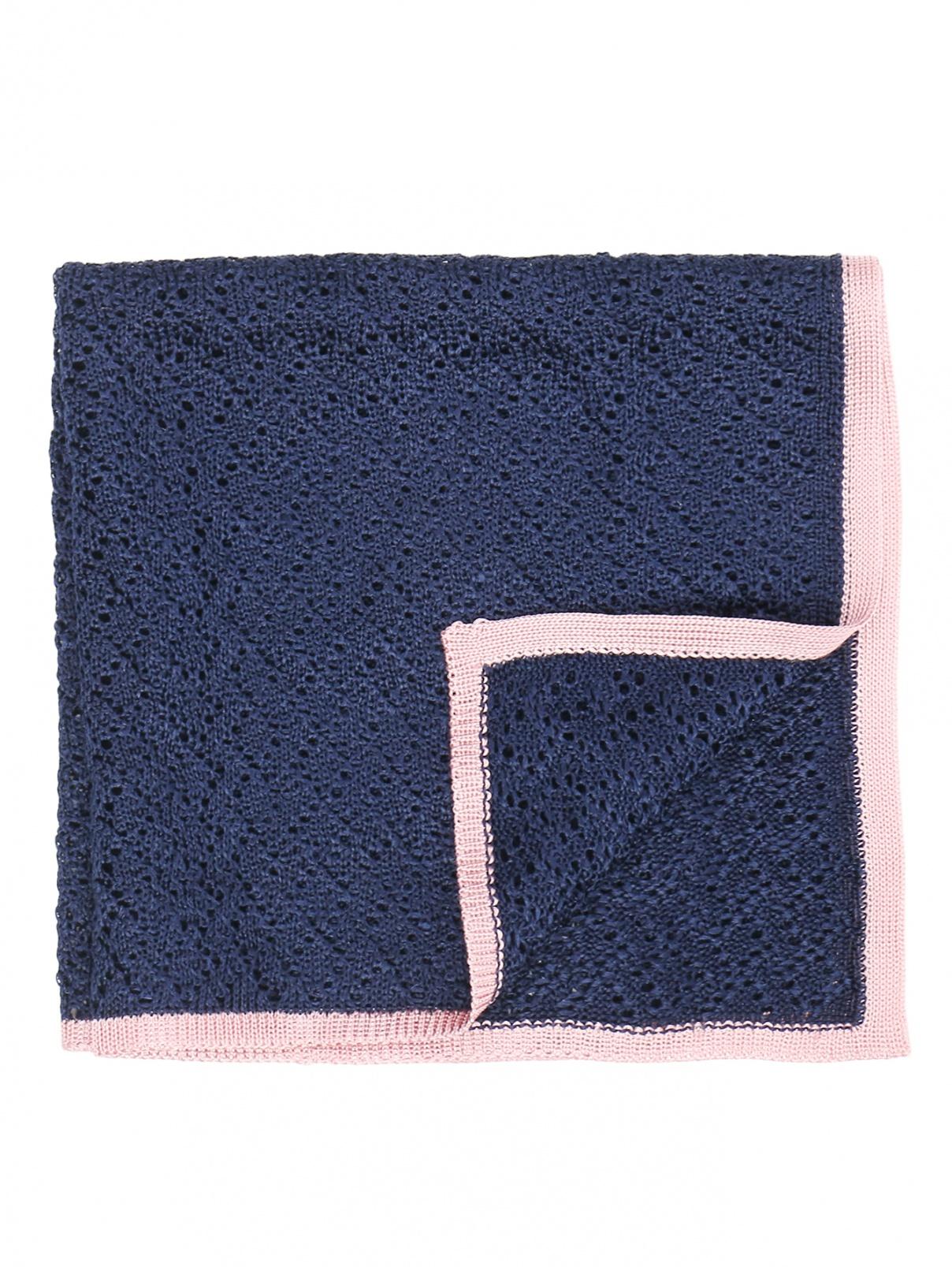Платок из шелка ажурной вязки LARDINI  –  Общий вид