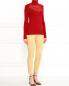 Брюки узкого кроя с добавлением люрекса Moschino Couture  –  Модель Общий вид