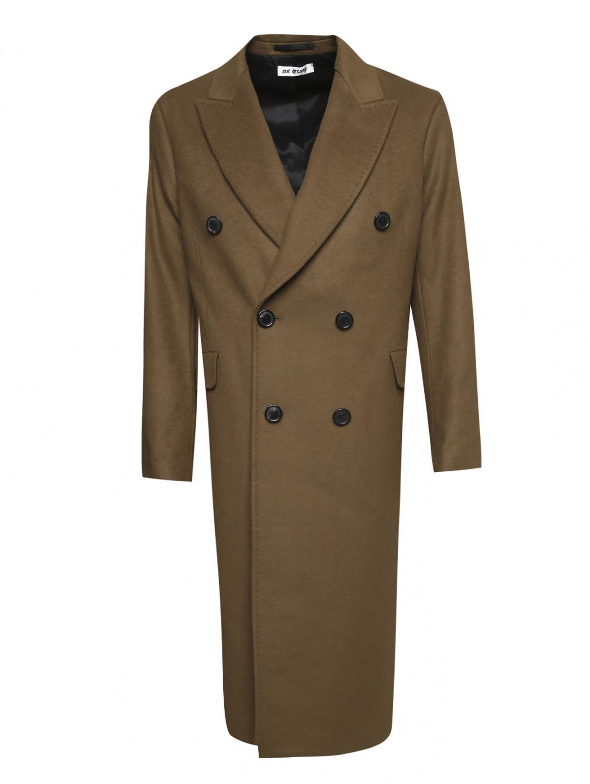 Двубортное пальто из шерсти Our Legacy  –  Общий вид