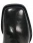 Сапоги-ботфорты из кожи на каблуке Ermanno Scervino  –  Обтравка3