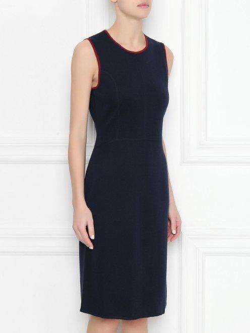 Платье из шерсти - МодельВерхНиз