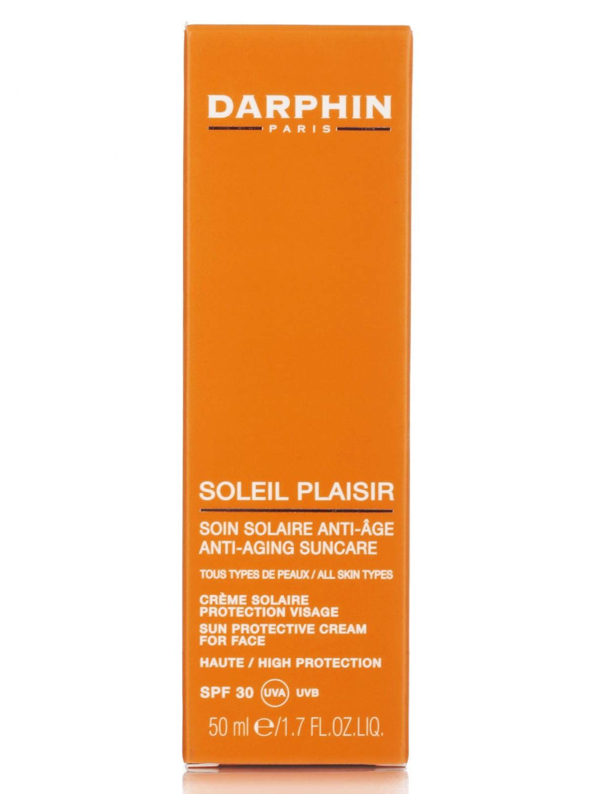 Антивозрастной солнцезащитный крем - Face Care, 50ml Darphin  –  Модель Общий вид