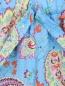 Брюки укороченные на резинке с цветочным узором Etro  –  Деталь