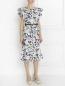 Платье с воланом и накладными карманами Raoul  –  Модель Общий вид