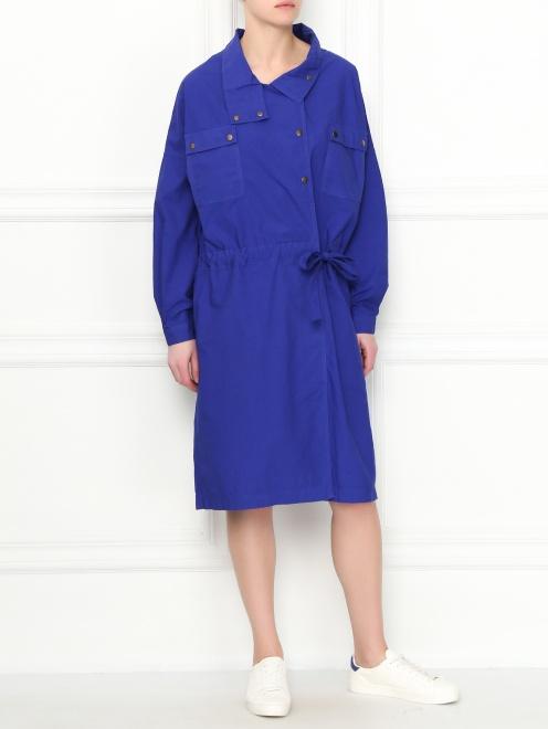 Платье из хлопка асимметричного кроя CLOSED - Общий вид
