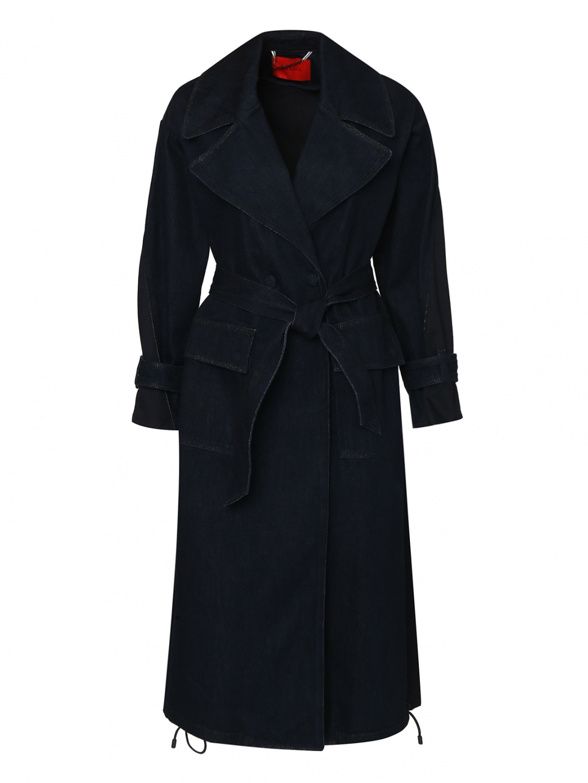Пальто из хлопка свободного кроя Max&Co  –  Общий вид