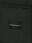 Однобортный пиджак из шерсти и шелка Emporio Armani  –  Деталь2
