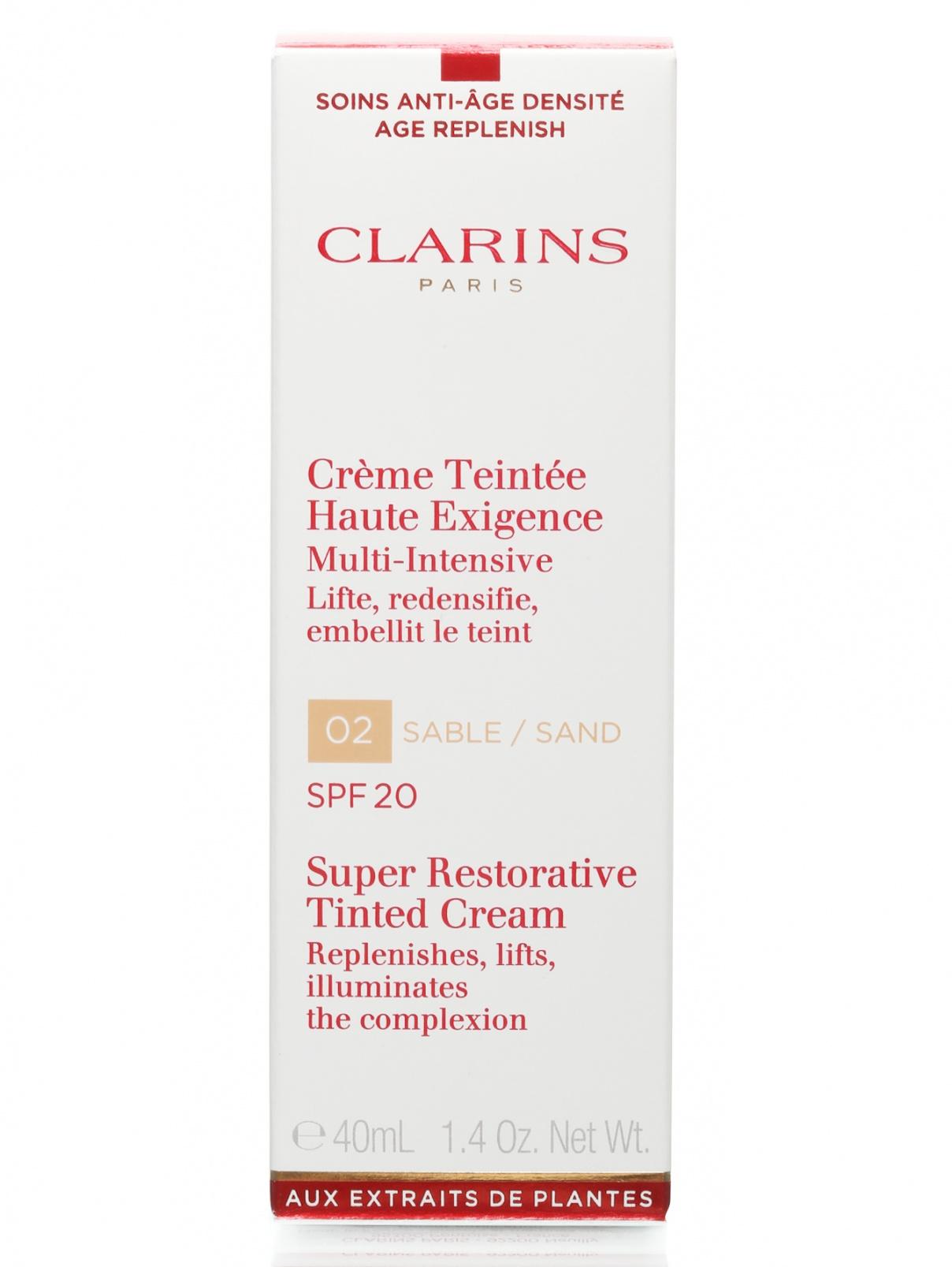 Крем с легким тоном - №2 Sand, Super restorative, 40ml Clarins  –  Общий вид