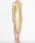 Платье-футляр декорированное пайетками Ermanno Scervino  –  МодельВерхНиз