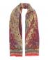 Шарф из шерсти и шелка с узором Etro  –  Общий вид