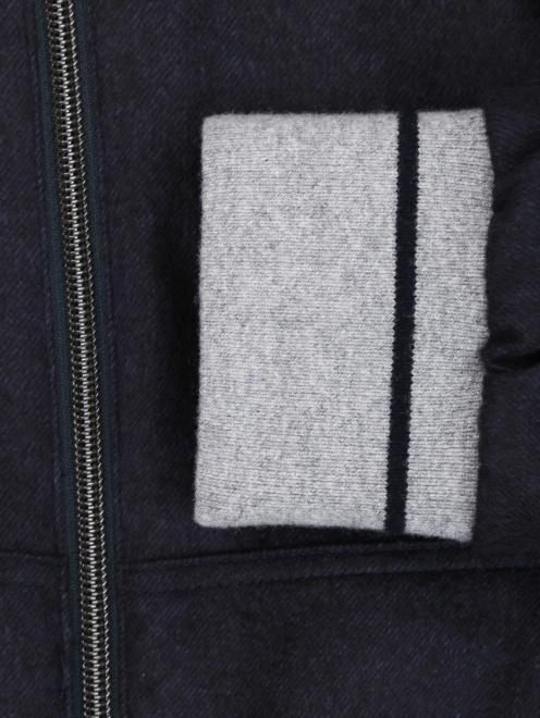 Куртка из шелка и кашемира - Деталь