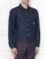Куртка джинсовая с вышивкой Carne Bollente  –  МодельВерхНиз