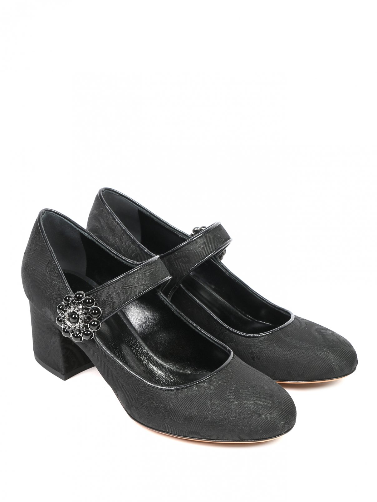 Туфли с узором и декоративной пряжкой Etro  –  Общий вид
