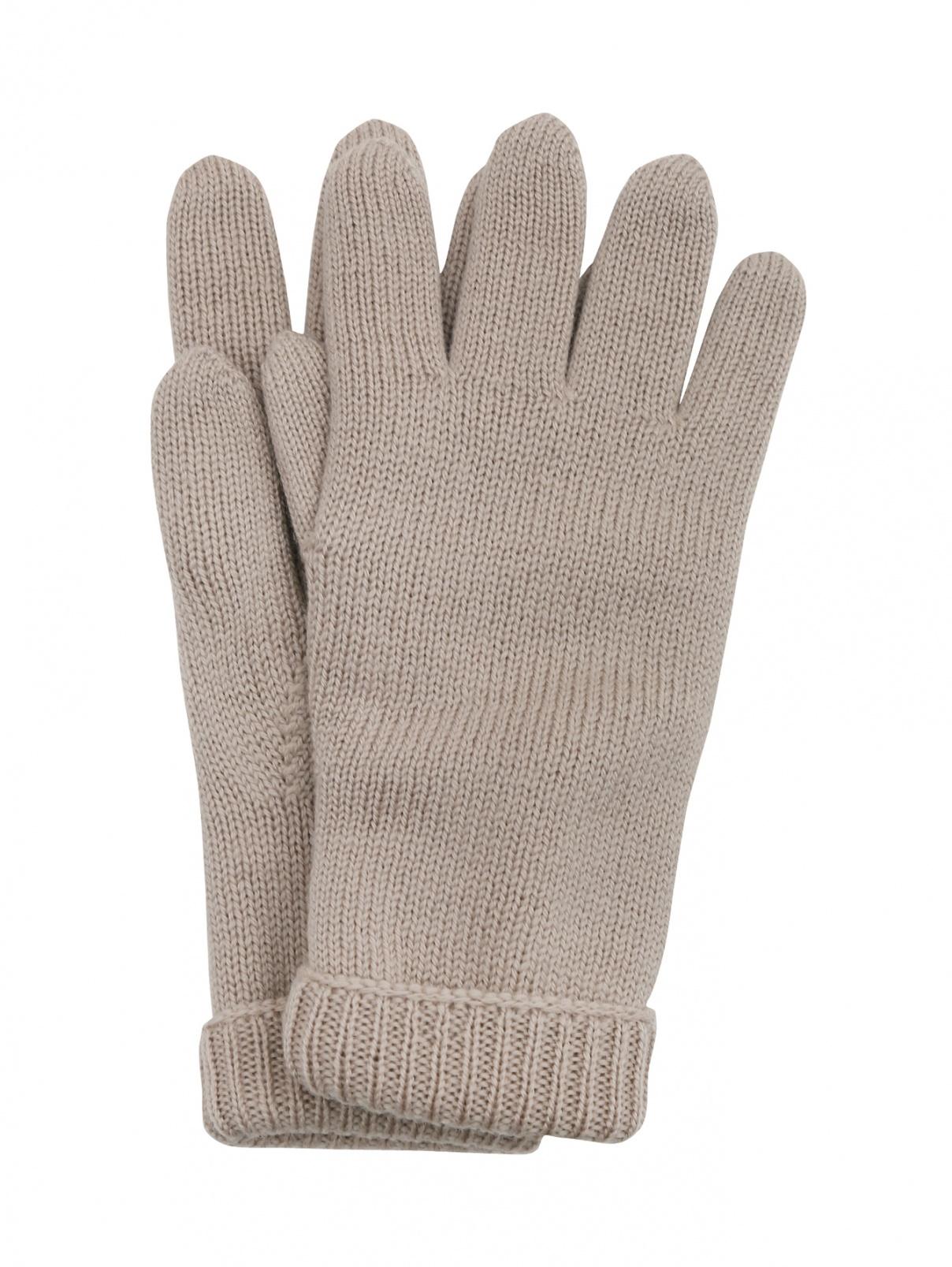 Однотонные перчатки из шерсти IL Trenino  –  Общий вид