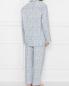 Пижама хлопковая с цветочным узором Zimmerli  –  МодельОбщийВид2